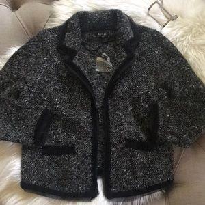 NWT Apt9 Sweater Blazer